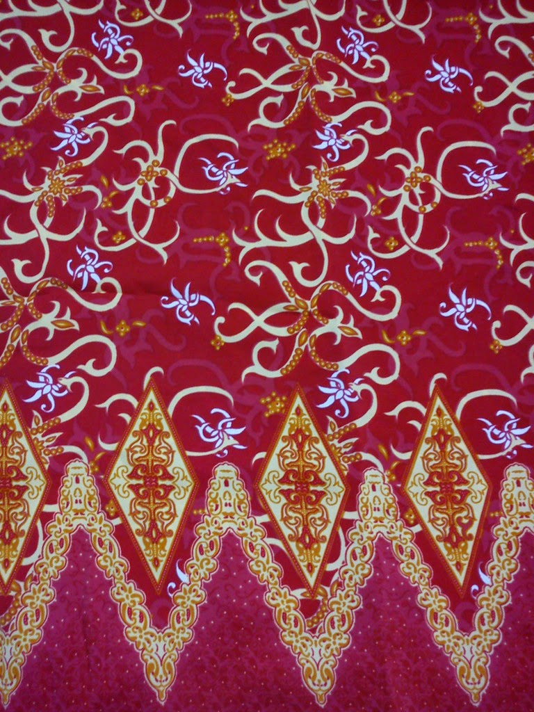 Batik Kalimantan Motif Tidayu