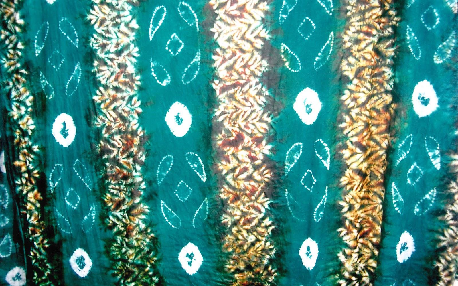 Batik Khas Kalimantan Timur Daun Jaruju