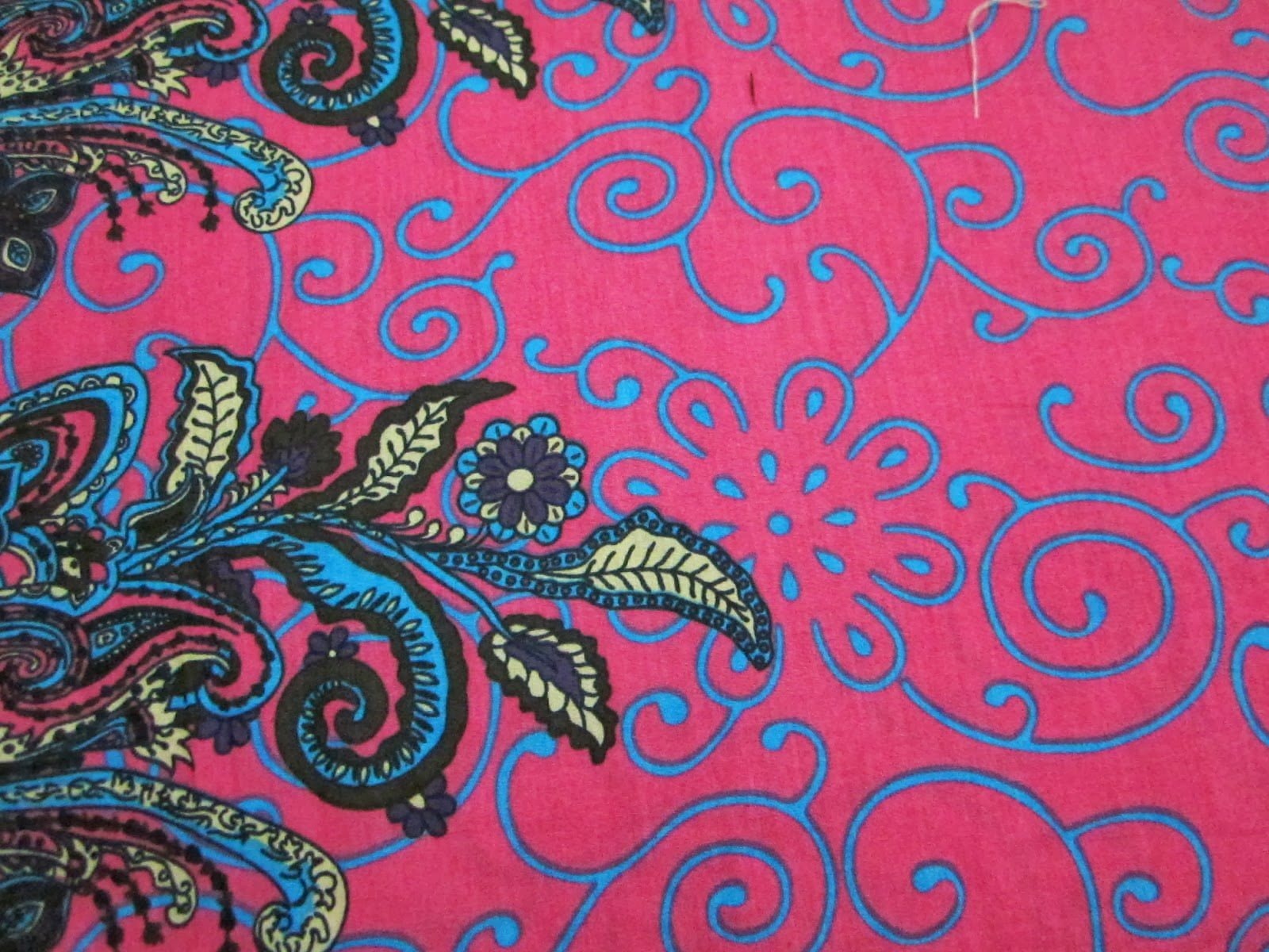 Batik Khas Pekalongan Motif Bunga 2D dan 3D