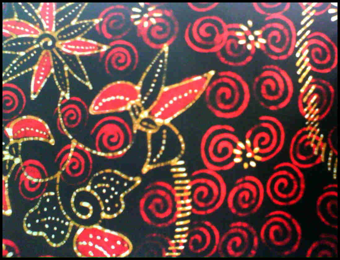 Batik Madura Sumenep Kombinasi Corak