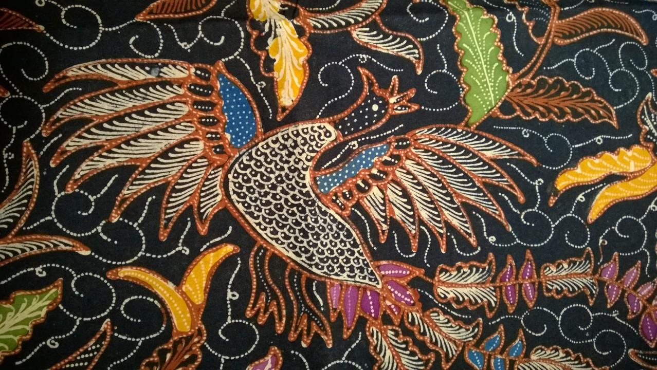 Batik Motif Cendrawasih