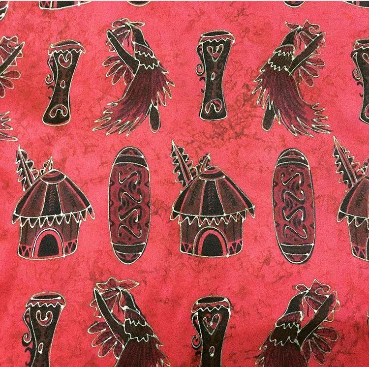 Batik Motif Tifa Honai