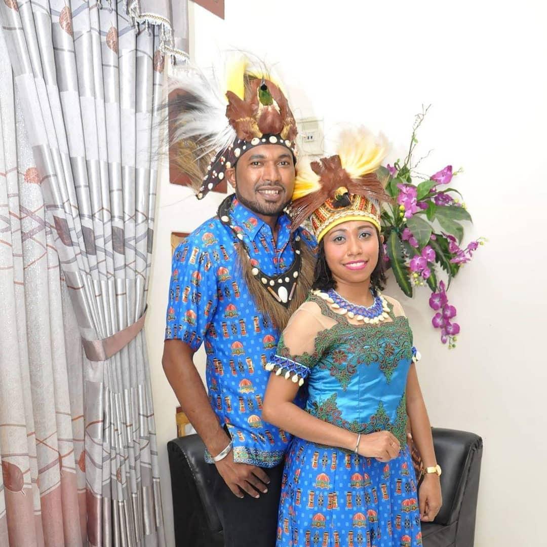 Batik Papua Kamoro Couple