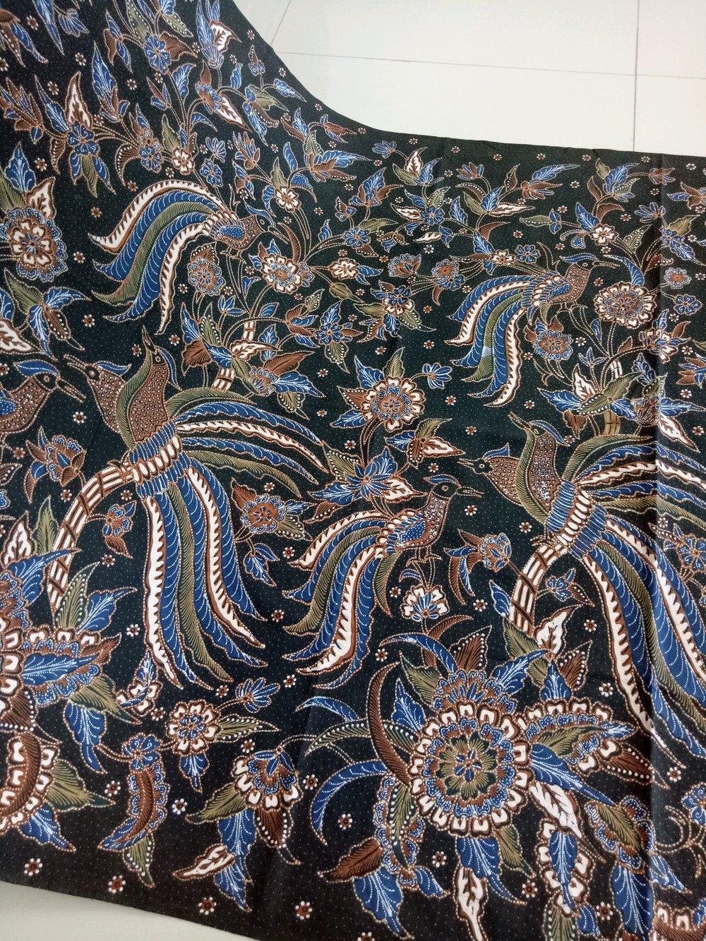 Batik Papua Motif Cendrawasih