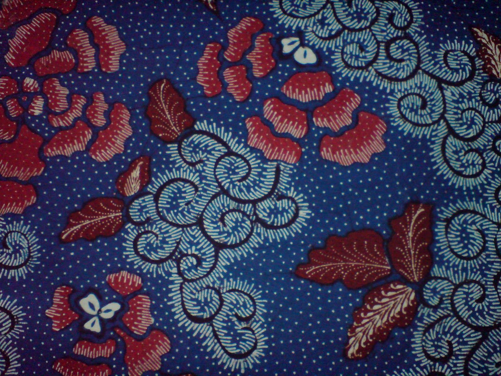 Batik Pekalongan Motif Bunga