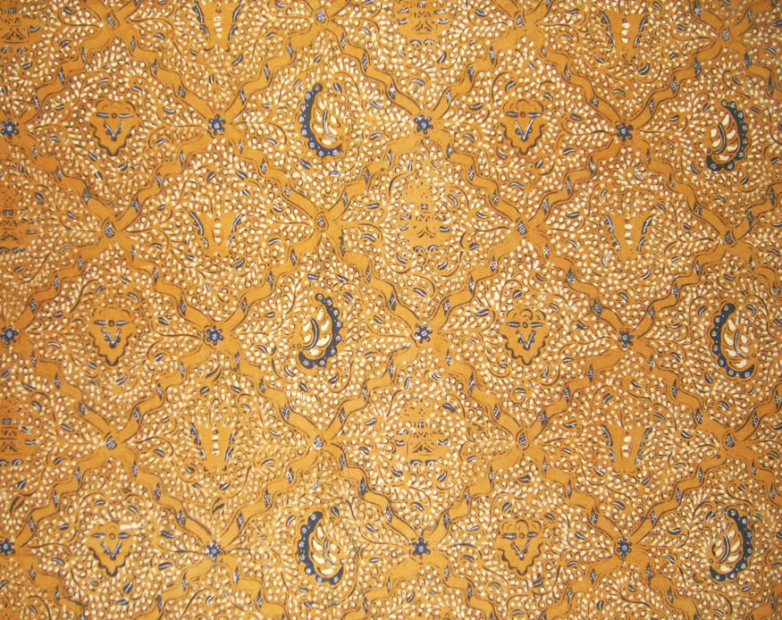 Batik Sidomukti Motif Simetris