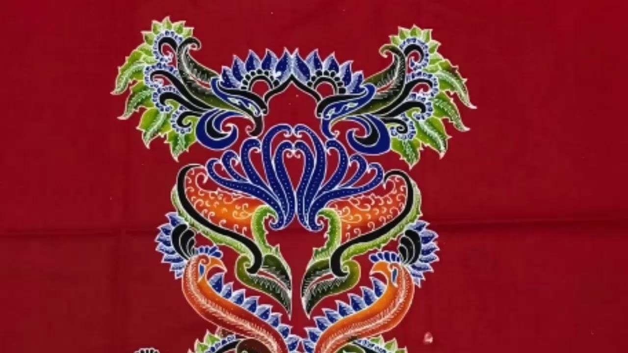 Batik Sumenep Warna Kombinasi