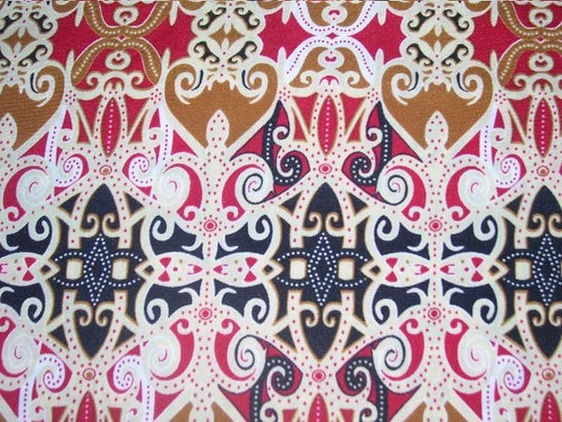 Batik etnis melayu tradisional