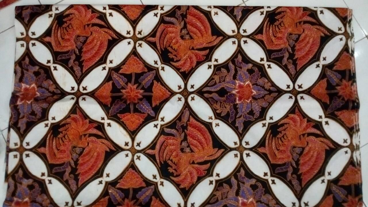 Batik pekalongan motif kawung kombinasi