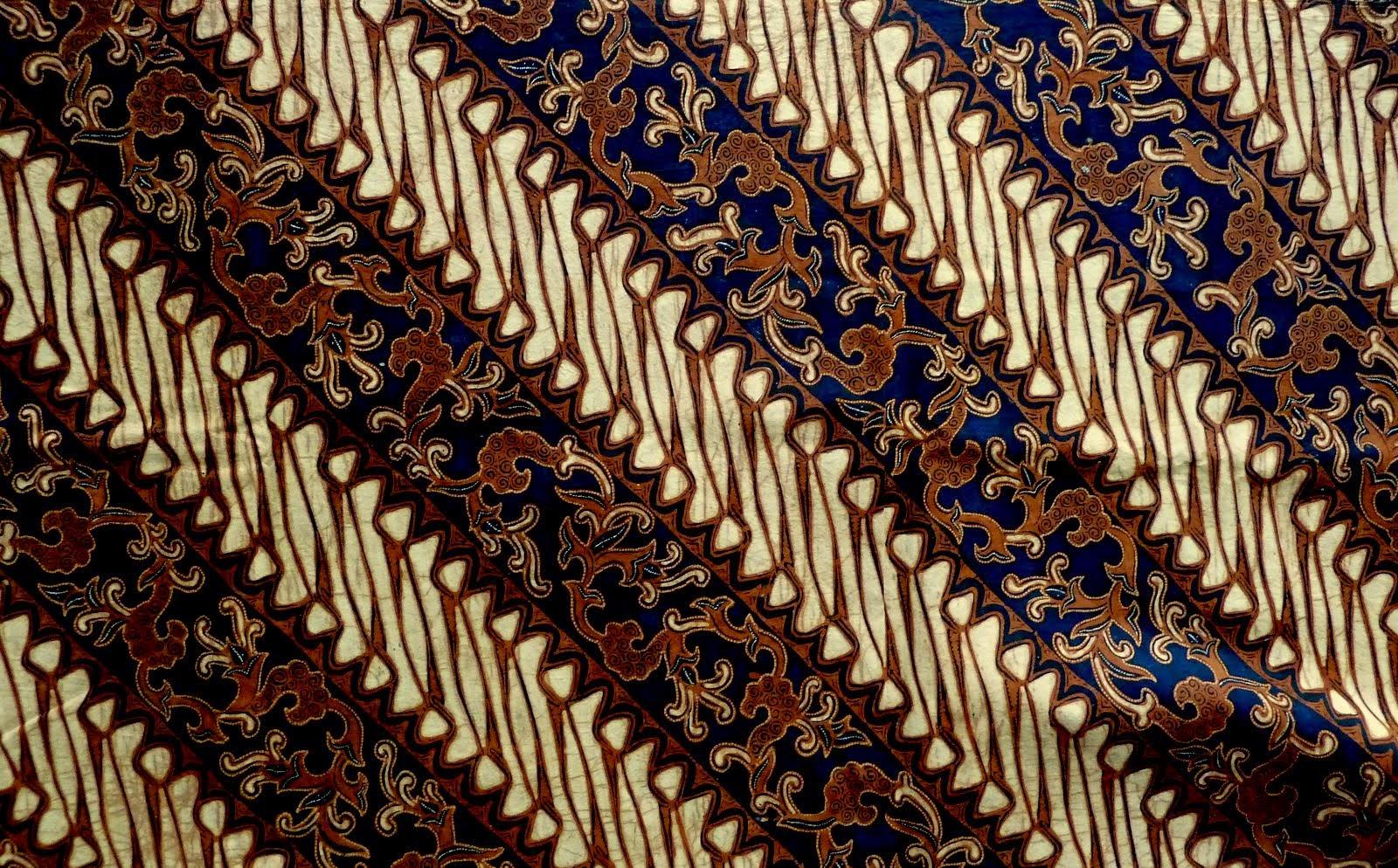 Batik pekalongan motif parang kombinasi