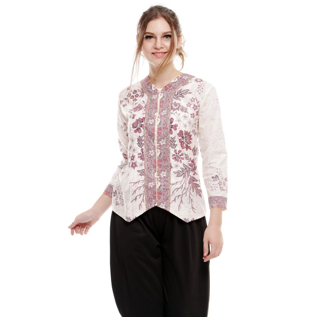Blouse Batik Bali Klasik