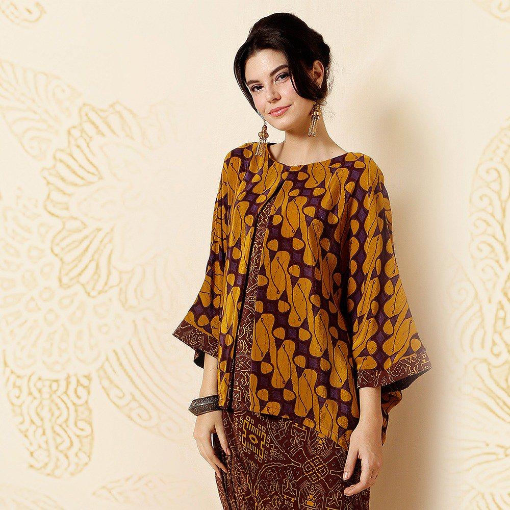 Dress Batik Dengan Outer Motif Parang