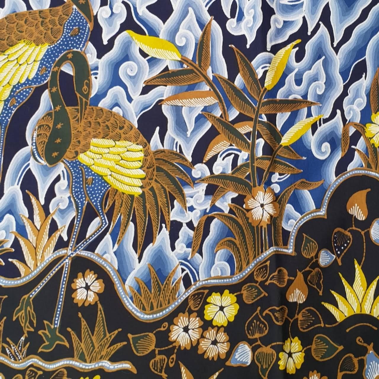 Gambar Motif Batik Mega Mendung
