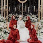 Gaun Bridesmaid Mewah dan Elegan