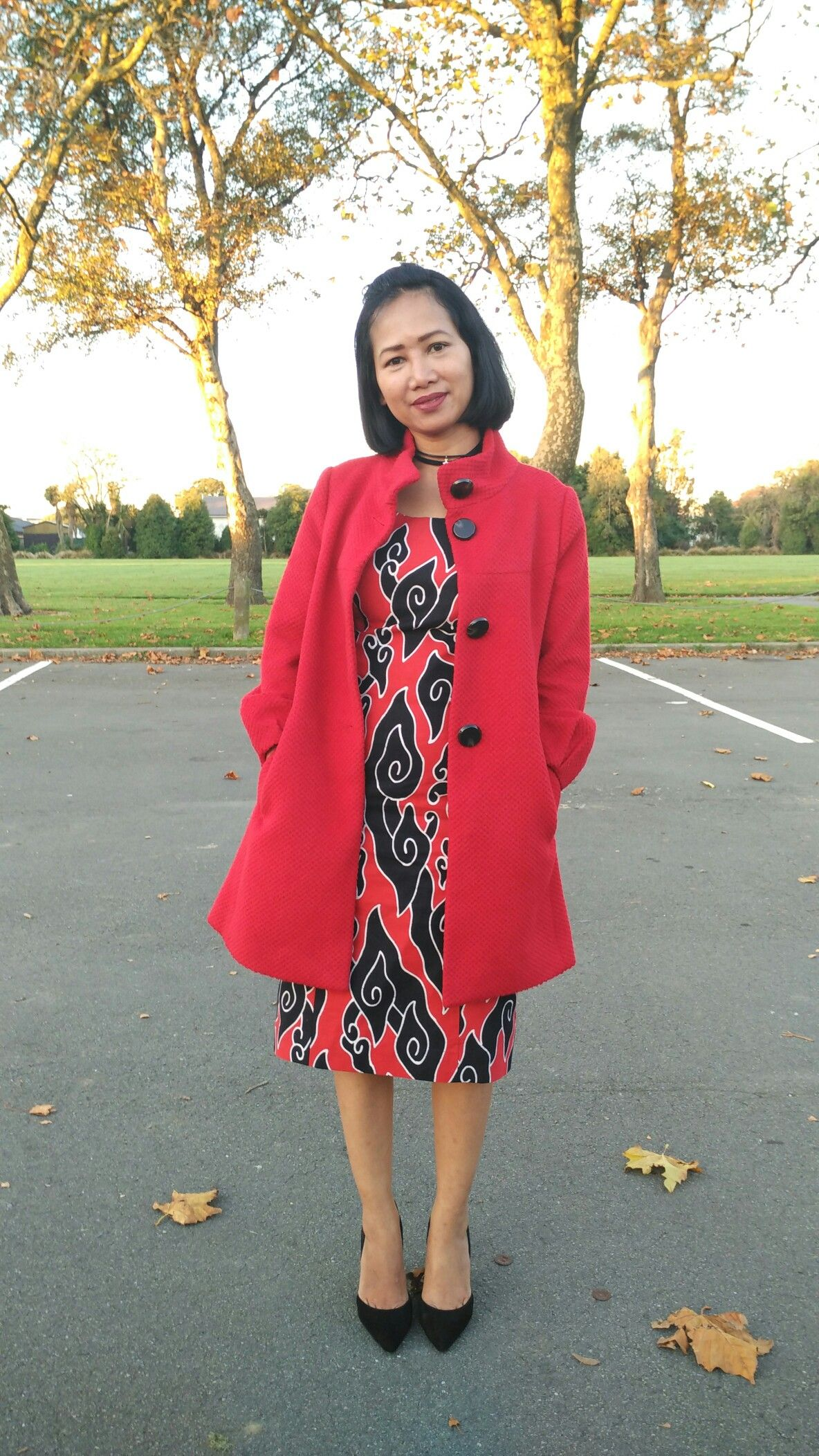 Inner Dress Batik Mega Mendung