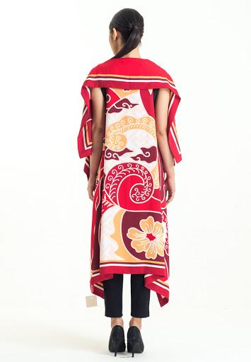 Kardigan Batik Bali Motif Bunga