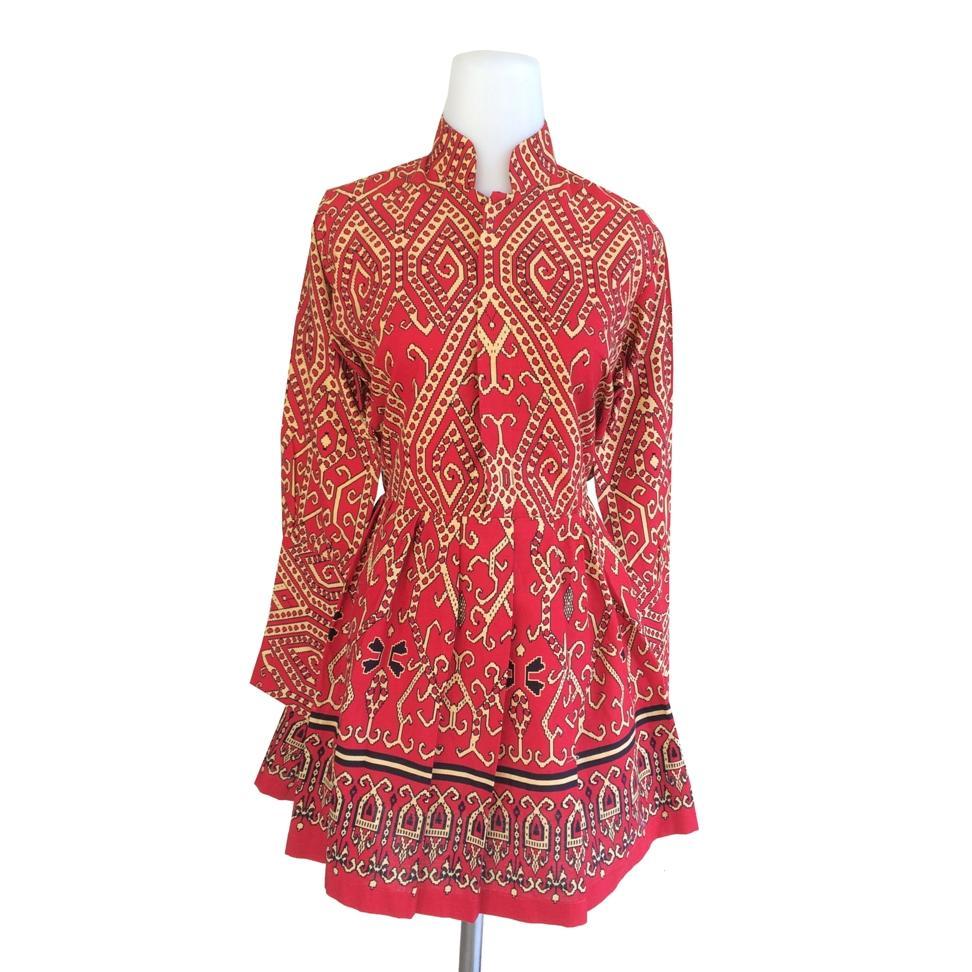Model Baju Batik Kalimantan