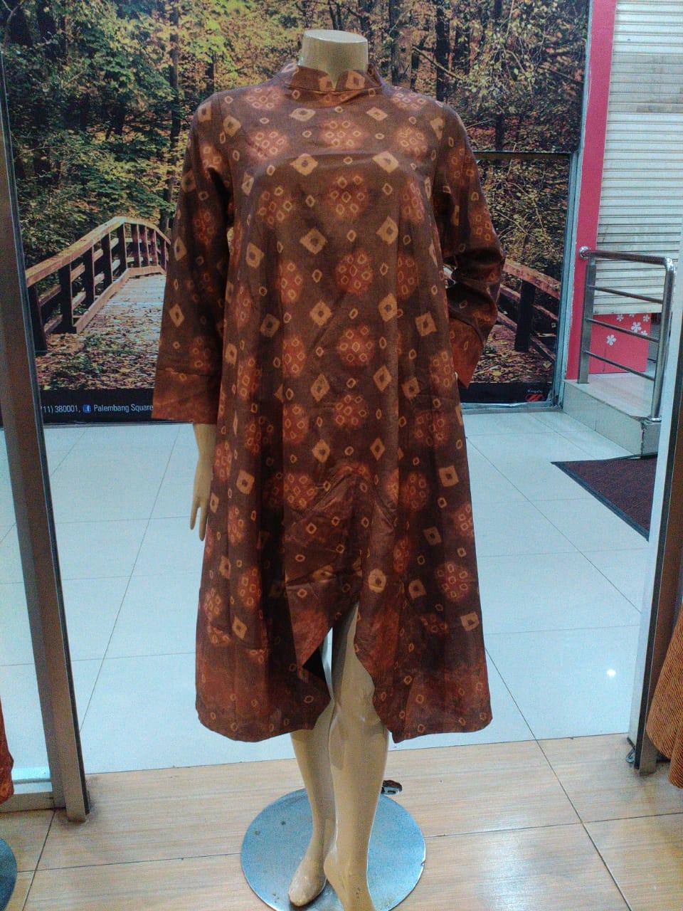 Model Baju Tunik jumputan