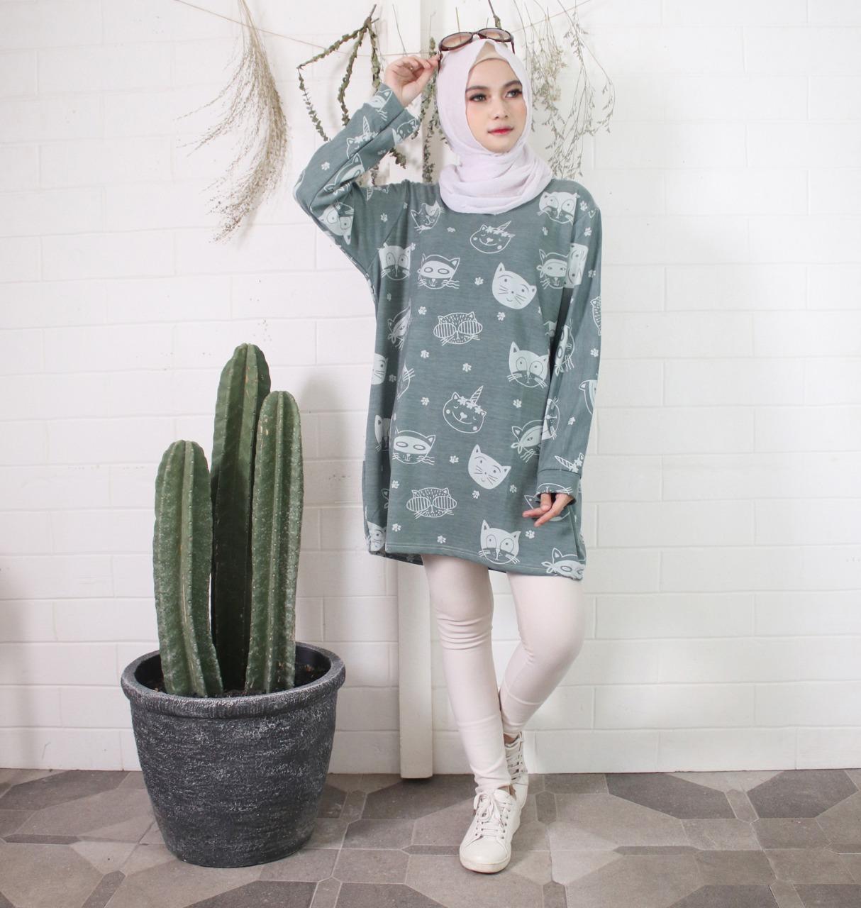 Model Baju Tunik kaos