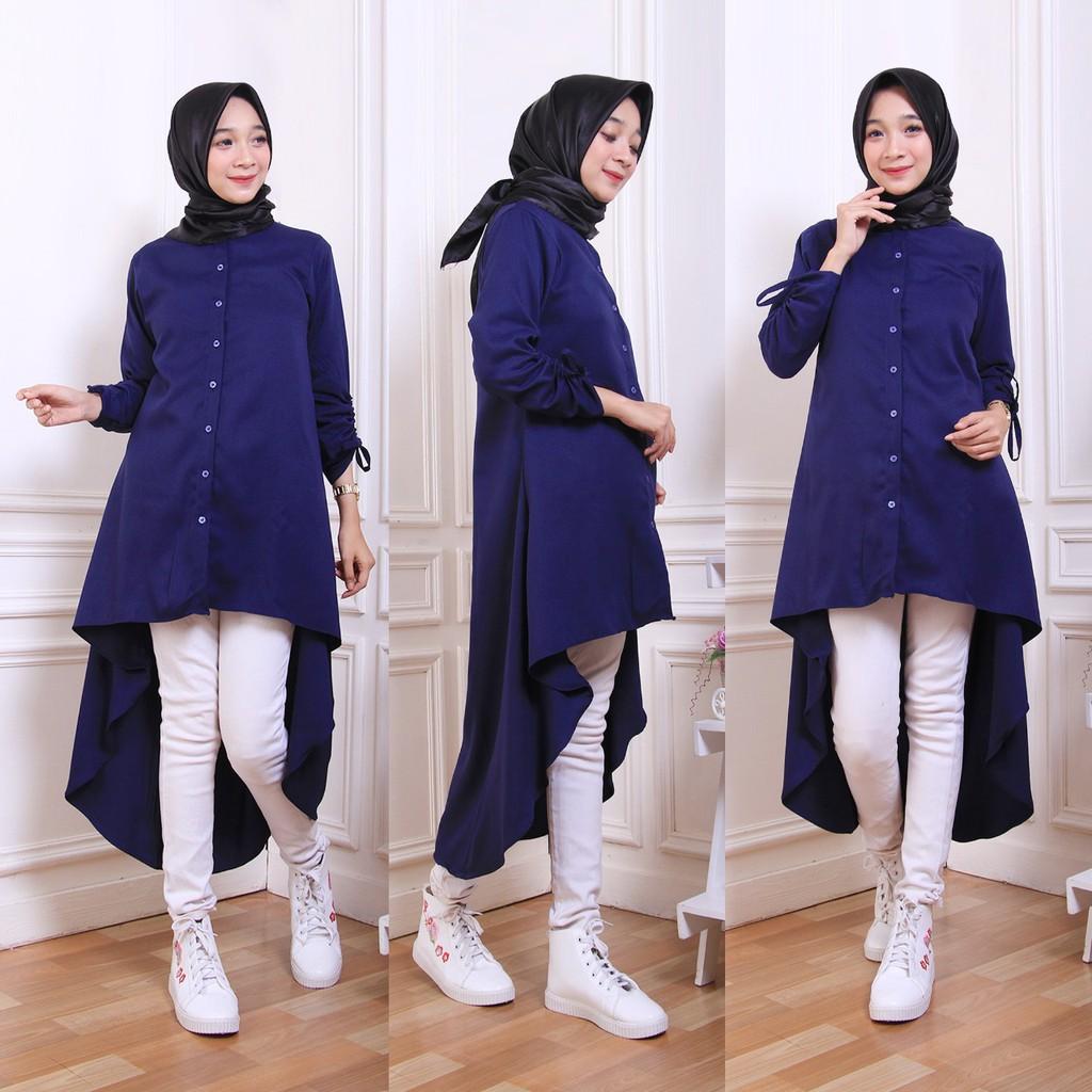 Model Baju Tunik long