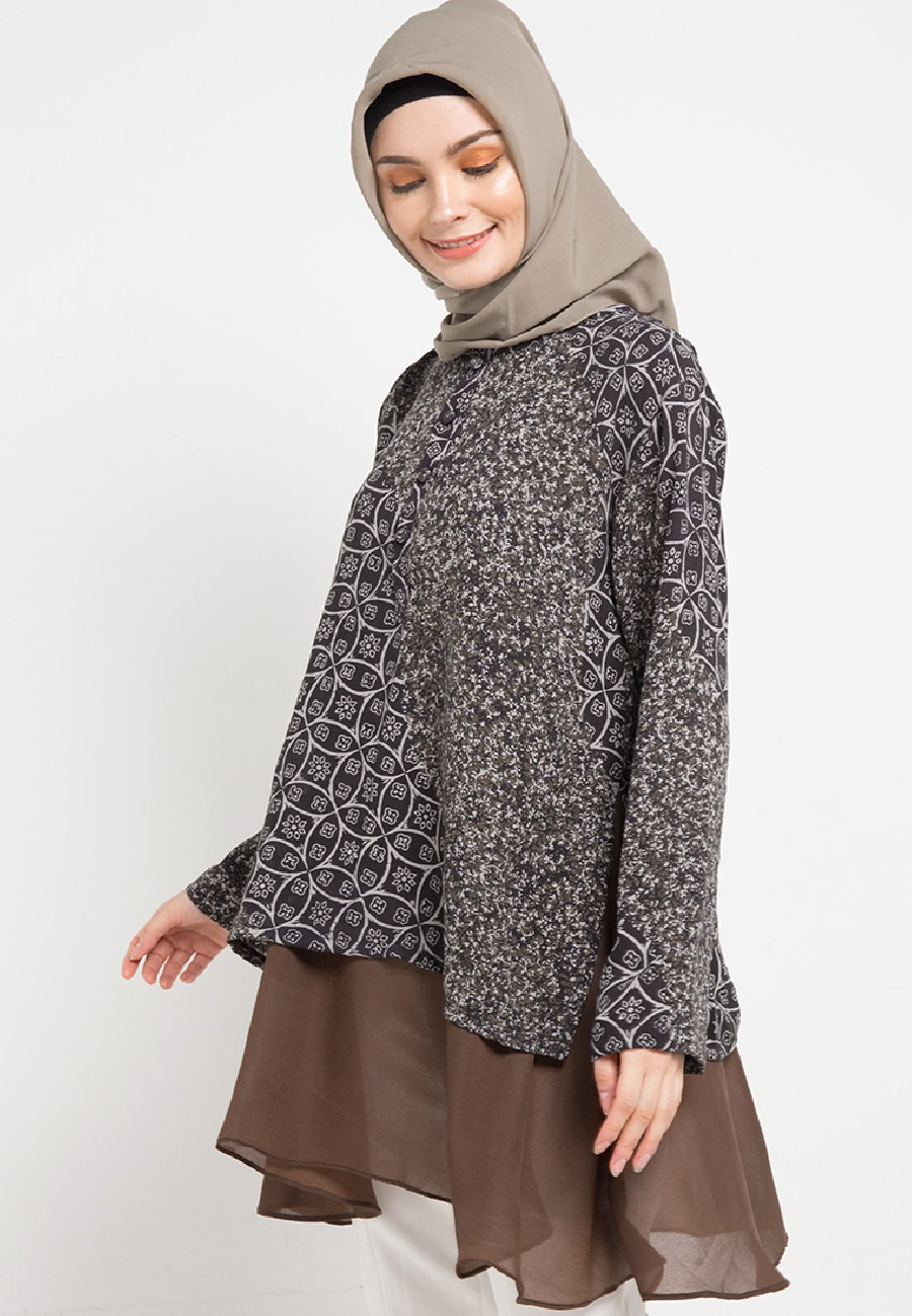 Model Baju Tunik muslimah