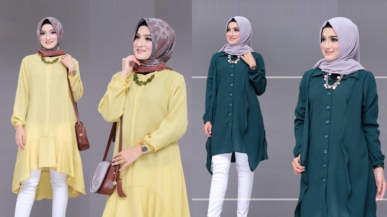 Model Baju Tunik simple