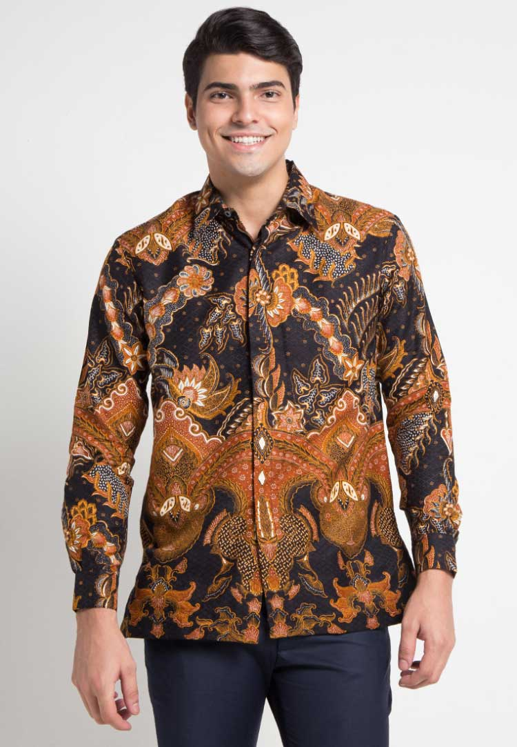 Model Batik Papua