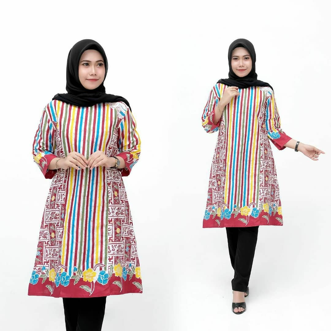 Model Batik Pekalongan