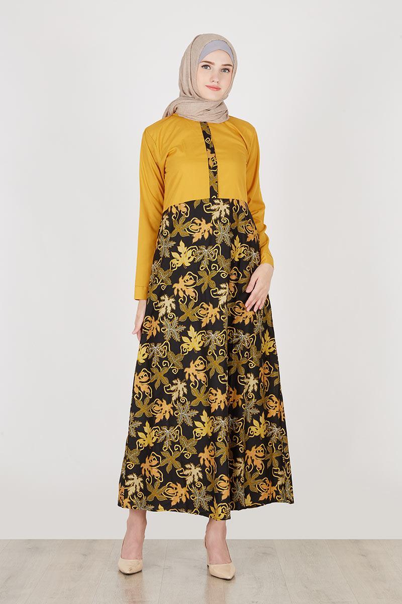 Model Gamis Batik Bali Sablon