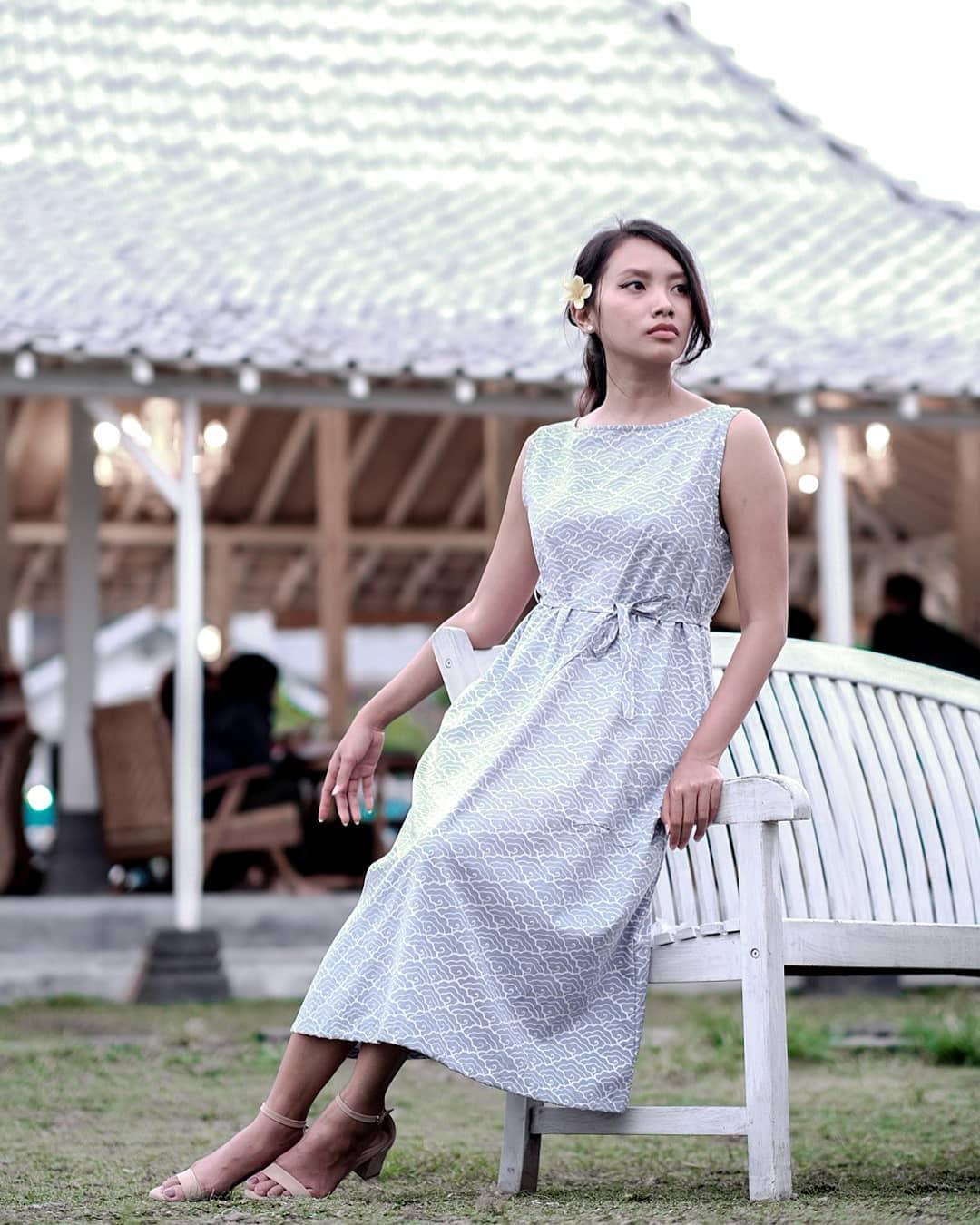 Modern Mega Mendung Dress