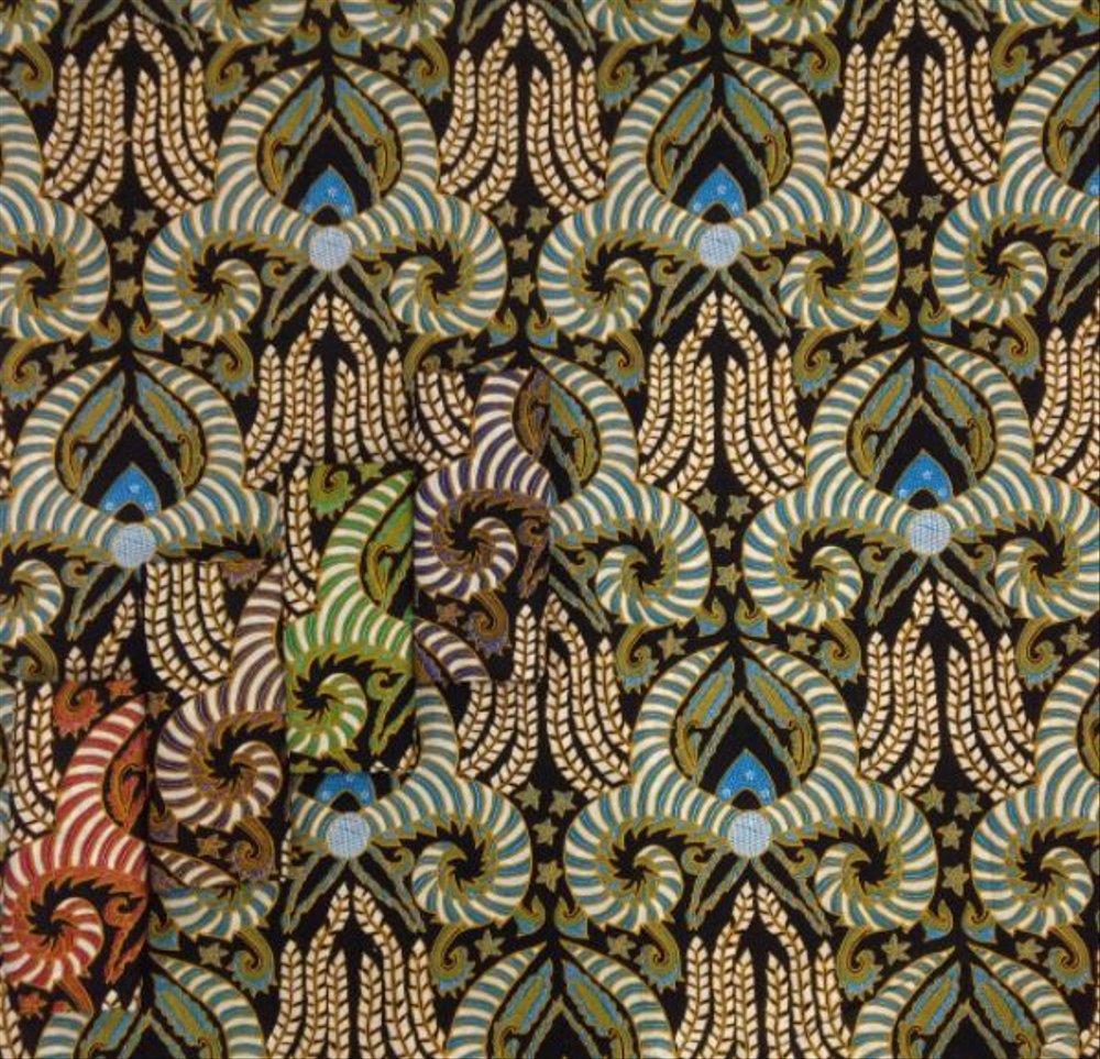 Motif Batik Asimetris