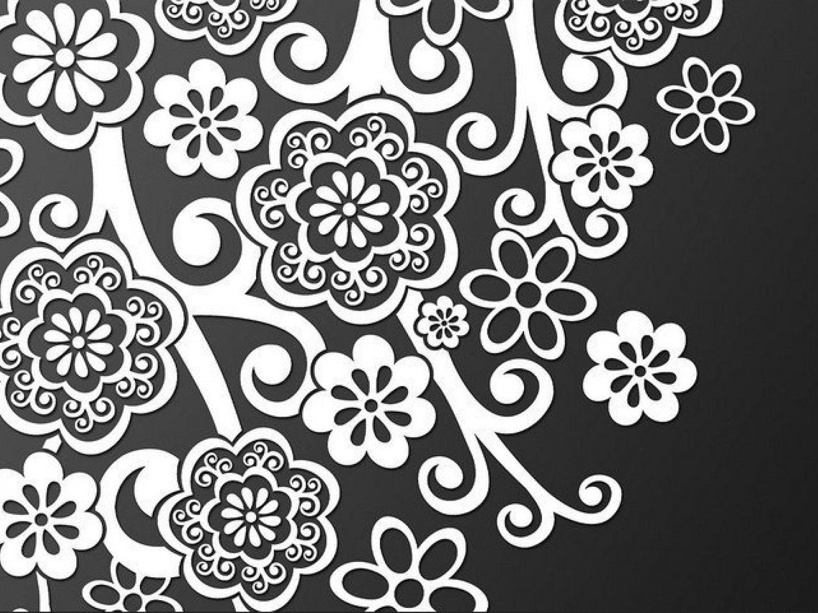 Motif Batik Bunga Melati