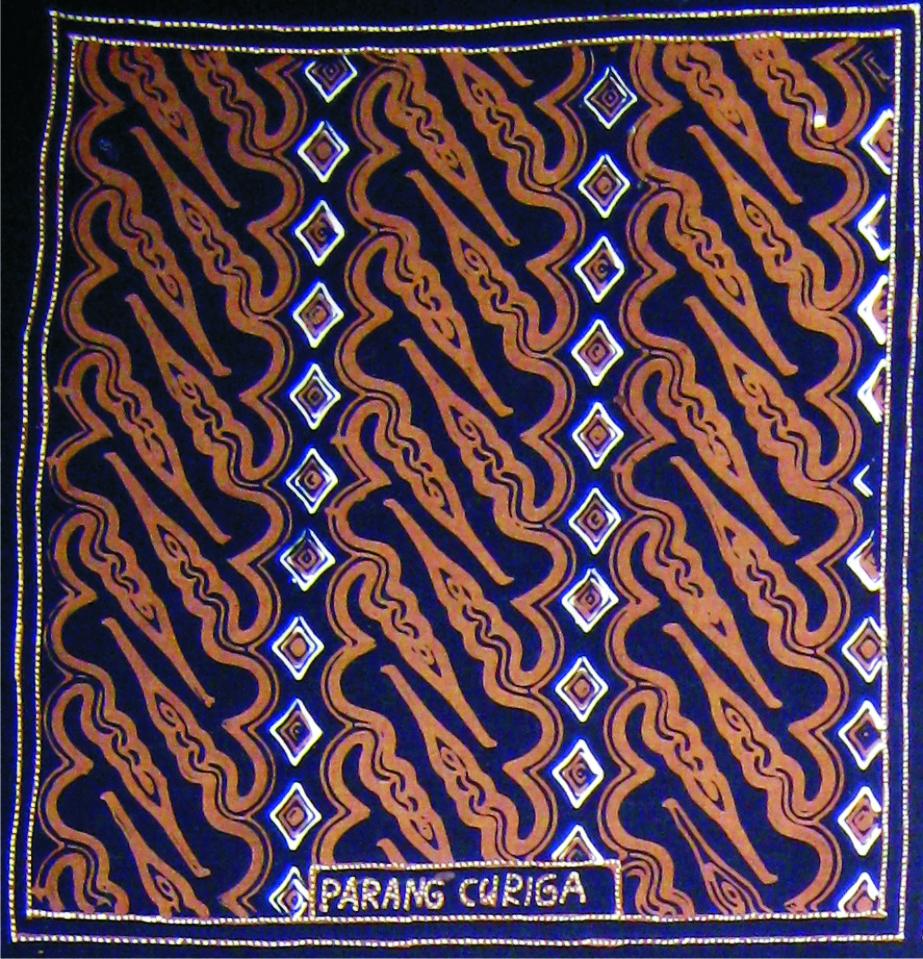 Motif Batik Parang Curigo Mlinjon
