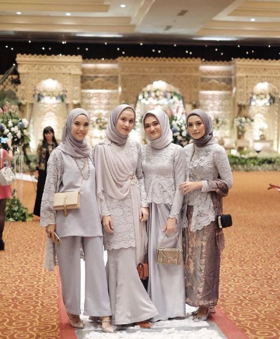 Seragam Kebaya Hijab Bridesmaid