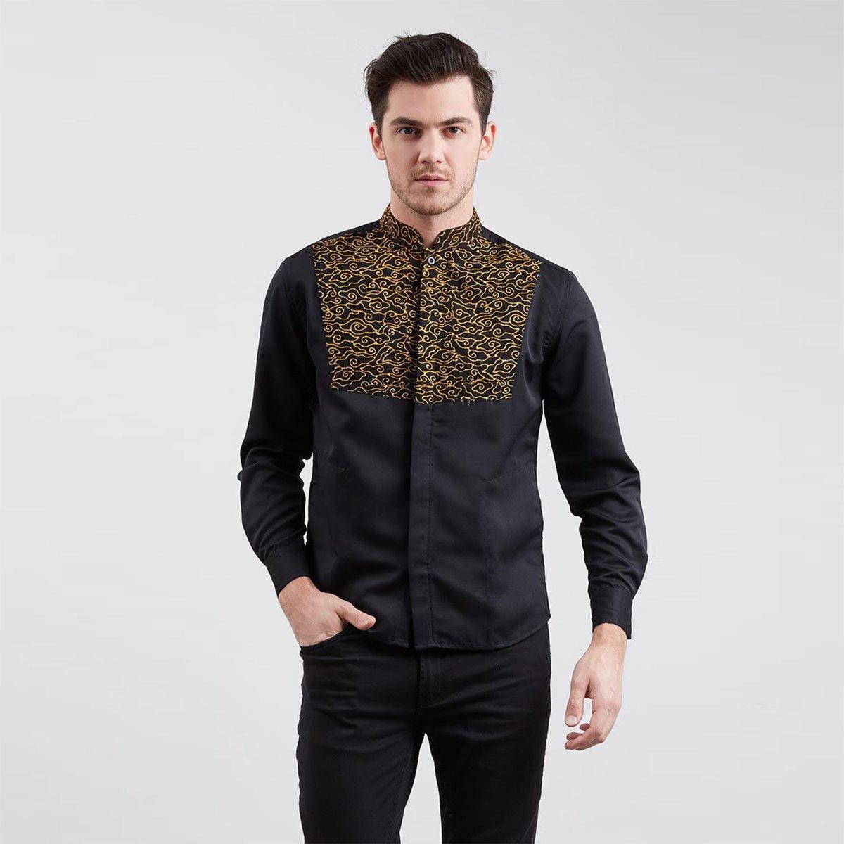koko batik motif mega mendung
