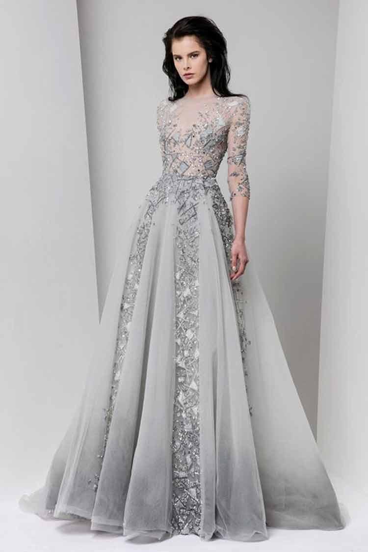 model baju brokat dress