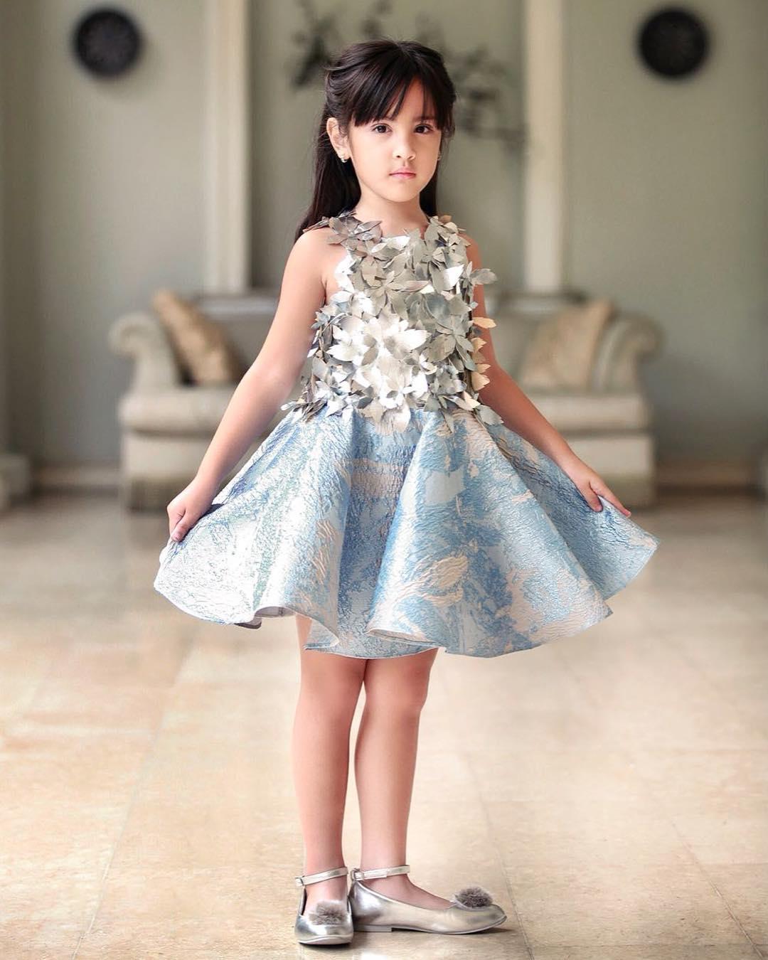 model baju pesta anak