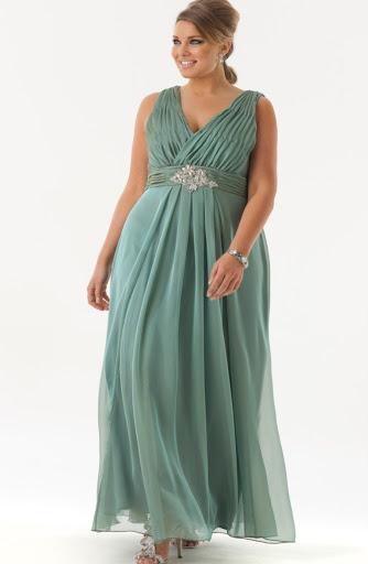 model baju pesta ibu hamil