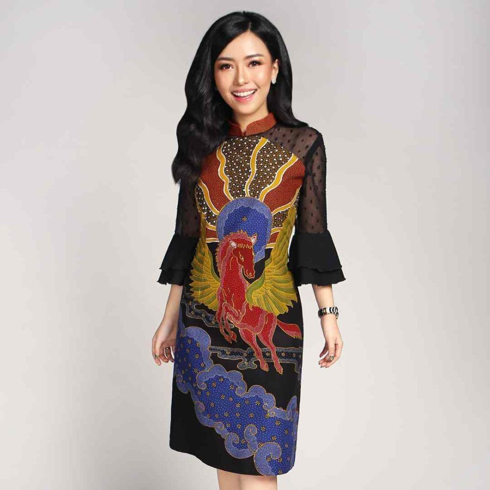 Batik Cirebon Mega Mendung