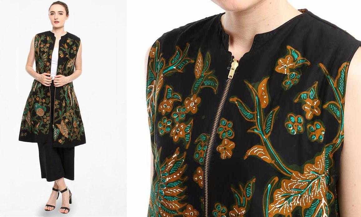 Batik Cirebon Model Zipper