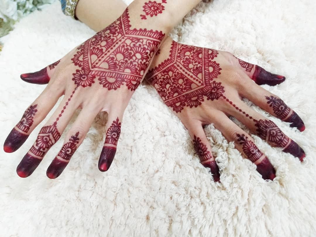 Contoh Henna Pengantin Terbaru