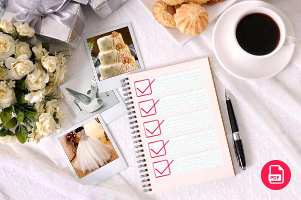 Daftar catatan persiapan pernikahan