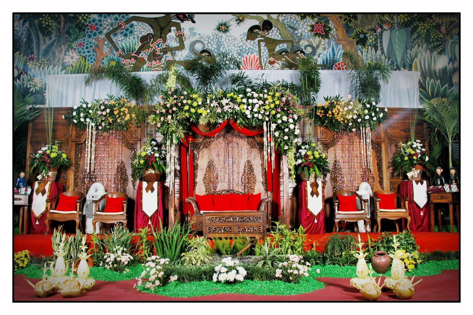 Dekorasi Pelaminan Jawa