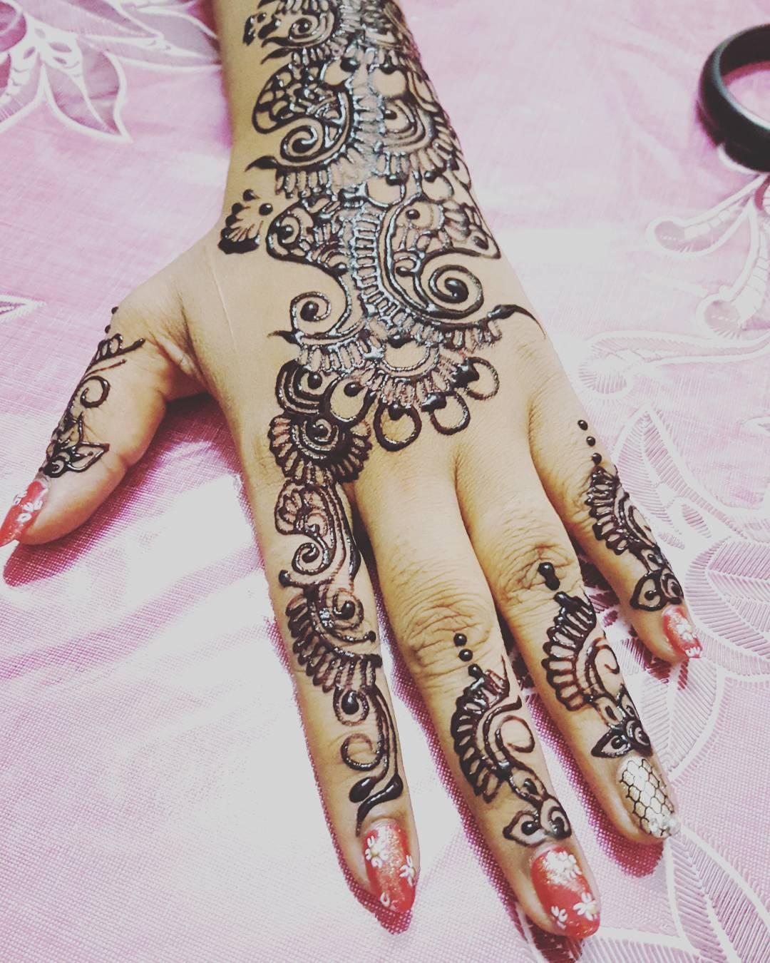 Desain Henna Pengantin