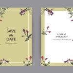 Desain Undangan Pernikahan Coreldraw