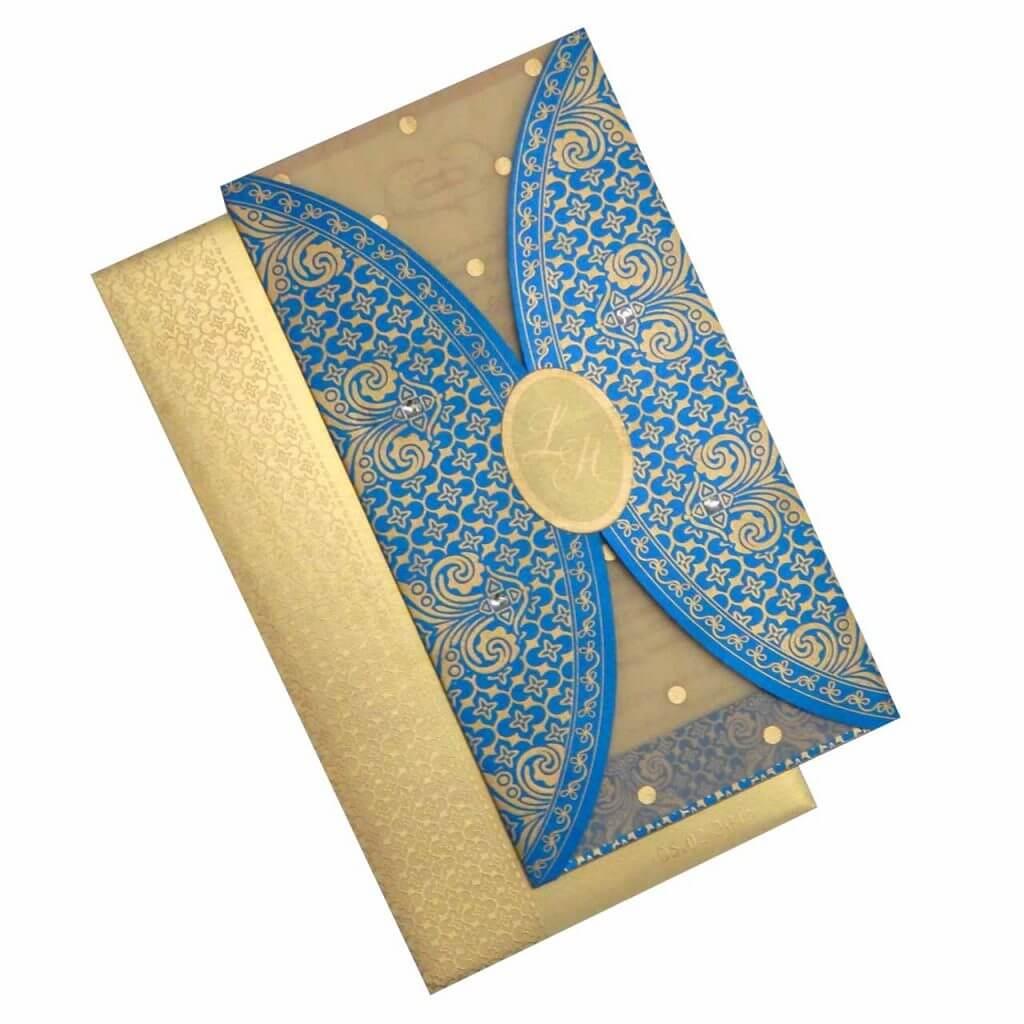 Desain Undangan Pernikahan Islami Modern