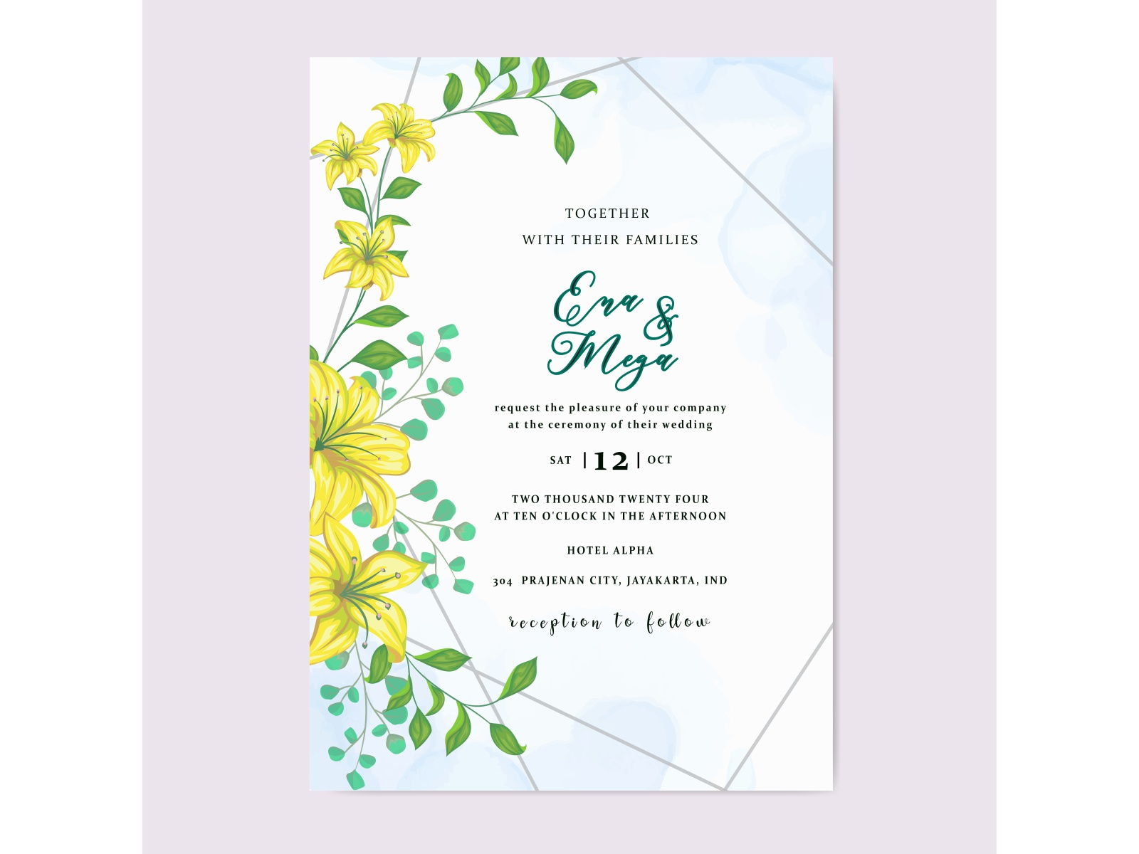 Desain Undangan Pernikahan Jogja