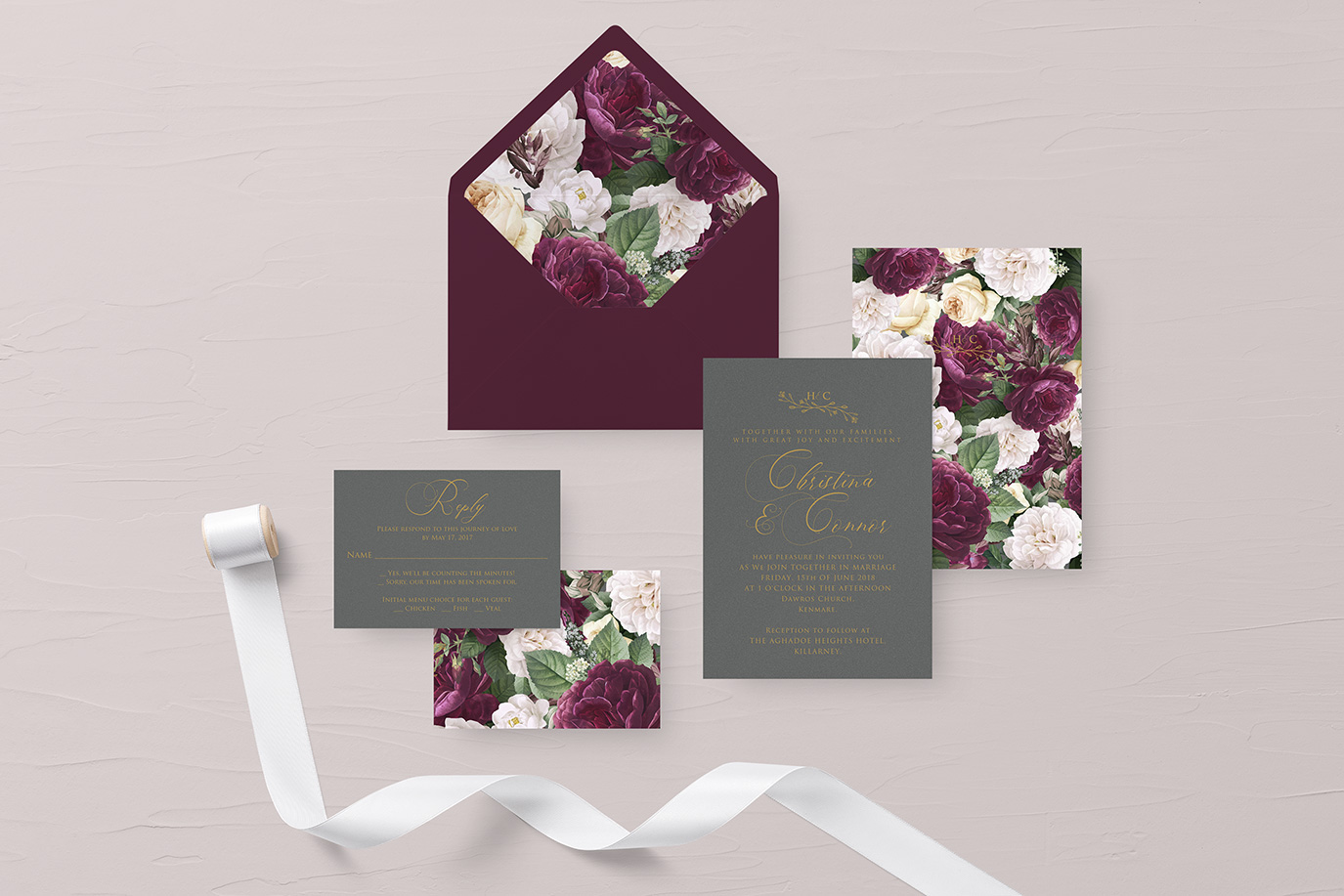 Desain Undangan Pernikahan Mewah Terbaru