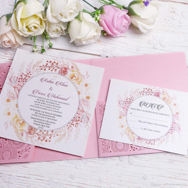 Desain Undangan Pernikahan Unik Psd