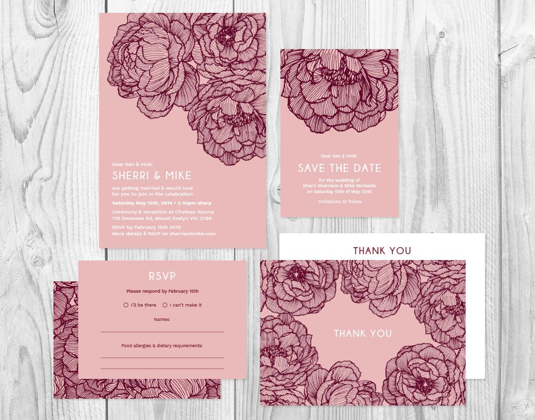 Desain Undangan Pernikahan Untuk Teman